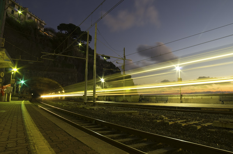 Il treno per le 5 Terre di manolina