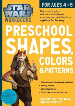 Star Wars Preschool Shapes, Colors & Patterns for Ages 4-5