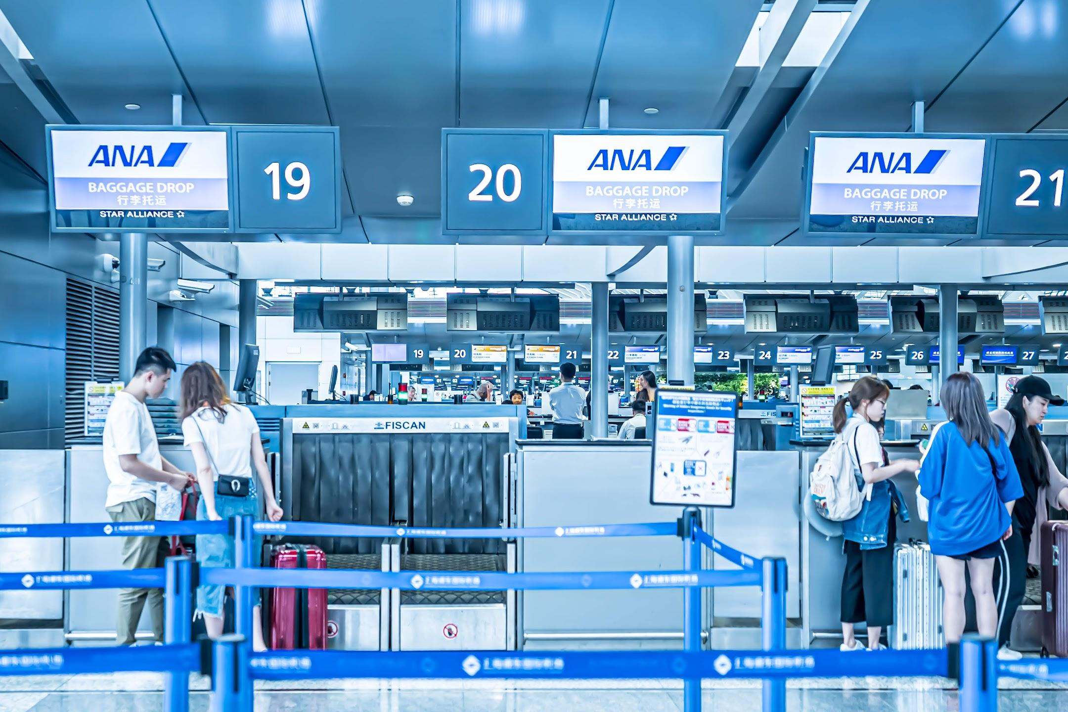 上海浦東国際空港 ANA2