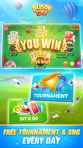 Pusoy Go: Free Online Chinese Poker(13 Cards game) apktram screenshots 3