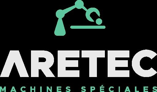 Logo ARETEC - Blanc