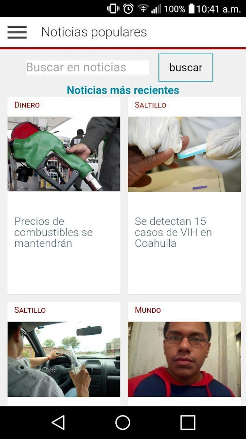 Siglo Coahuila- screenshot
