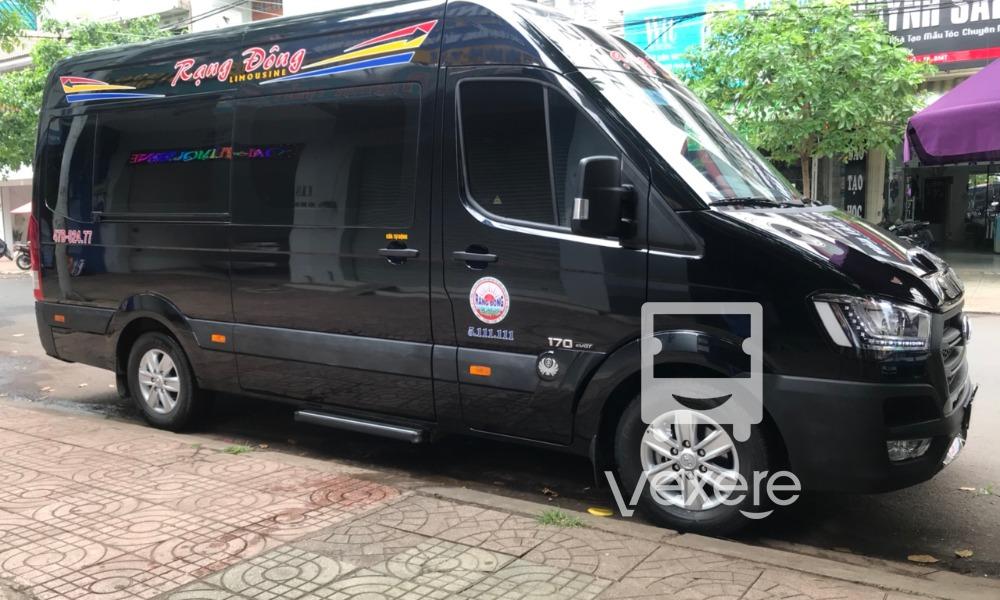 Xe limousine Nha Trang đi Buôn Ma Thuột: Rạng Đông Limousine
