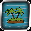 Treasure Island LCD Retro icon