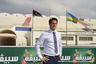Photo: Coach McKinstry [Rwanda Vs Libya World Cup 2018 Qualifier, 13 Nov 2015 in Sousse, Tunisia.  Photo © Darren McKinstry 2015]