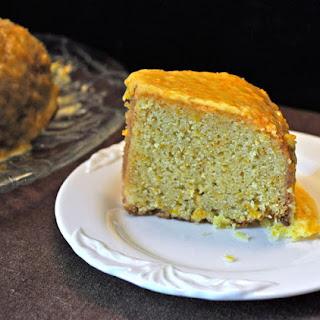Orange Cake with Orange Glaze
