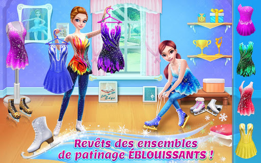 Code Triche Patineuse artistique – Piste des défis de danse mod apk screenshots 1