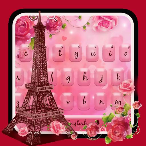Pink Rose Tower Keyboard