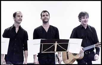Photo: David Orlowsky Trio  mit David Orlowsky: Clarinet Jens-Uwe Popp: Guitar Florian Dohrmann: Contrabass