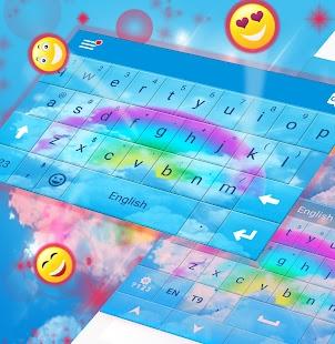Rainbow Colors For GO Keyboard - náhled