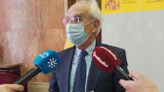 Manuel De la Fuente, subdelegado del Gobierno.
