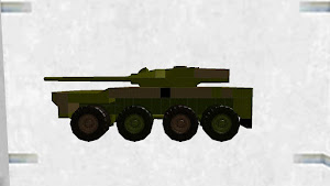 16式機動戦闘車(合理的車高)