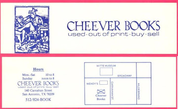 Photo: Cheever Books
