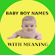 Download Baby Boy Names ~ Modern And Unique For PC Windows and Mac