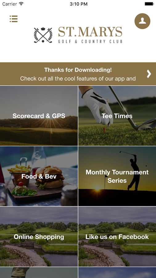 St. Marys Golf & Country Club- screenshot