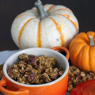 Pumpkin Pie Chia Granola