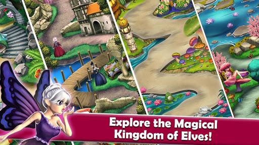 Mahjong Magic Worlds: Journey of the Wood Elves android2mod screenshots 15