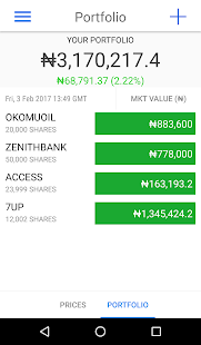 Yochaa - Nigerian Stocks- screenshot thumbnail