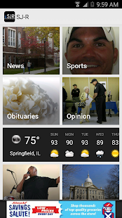 The State Journal-Register- screenshot thumbnail