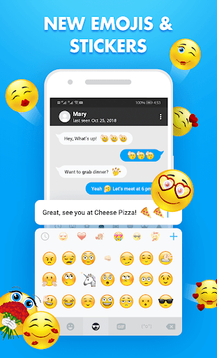 FunType: Emoji Keyboard, GIF, Emoji,Keyboard Theme 1.3.4 screenshots 2