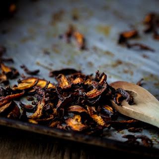 Vegan Shiitake Bacon.