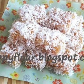 Gula Melaka Sago Kueh.