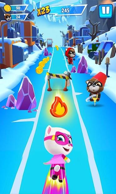 Talking Tom Hero Dash - Run Game Android App Screenshot