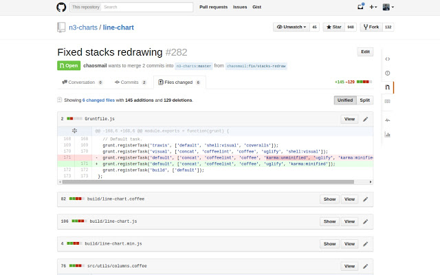 Hide Github build files
