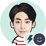 EXO XIUMIN Battery Widget APK icon
