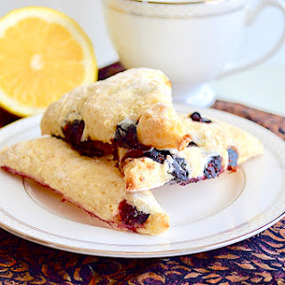 Lemon Blueberry Scones.