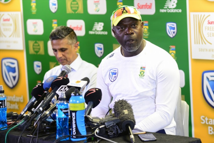 Ottis Gibson (Coach of the Proteas) during day 3 of the 3rd Sunfoil Test match between South Africa and India at Bidvest Wanderers Stadium on January 26, 2018 in Johannesburg.
