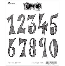 Dylusions Cling Stamps 8.5X7 - One In Ten