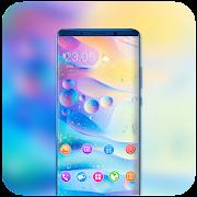 Theme for redmi6A bright bubble wallpaper icon