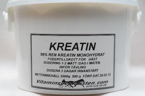 KREATIN monohydrat, microniserad effektivare än vanlig kreatin