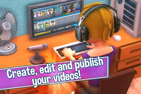 Youtubers Life Gaming Channel APK MOD 1.6.2 5