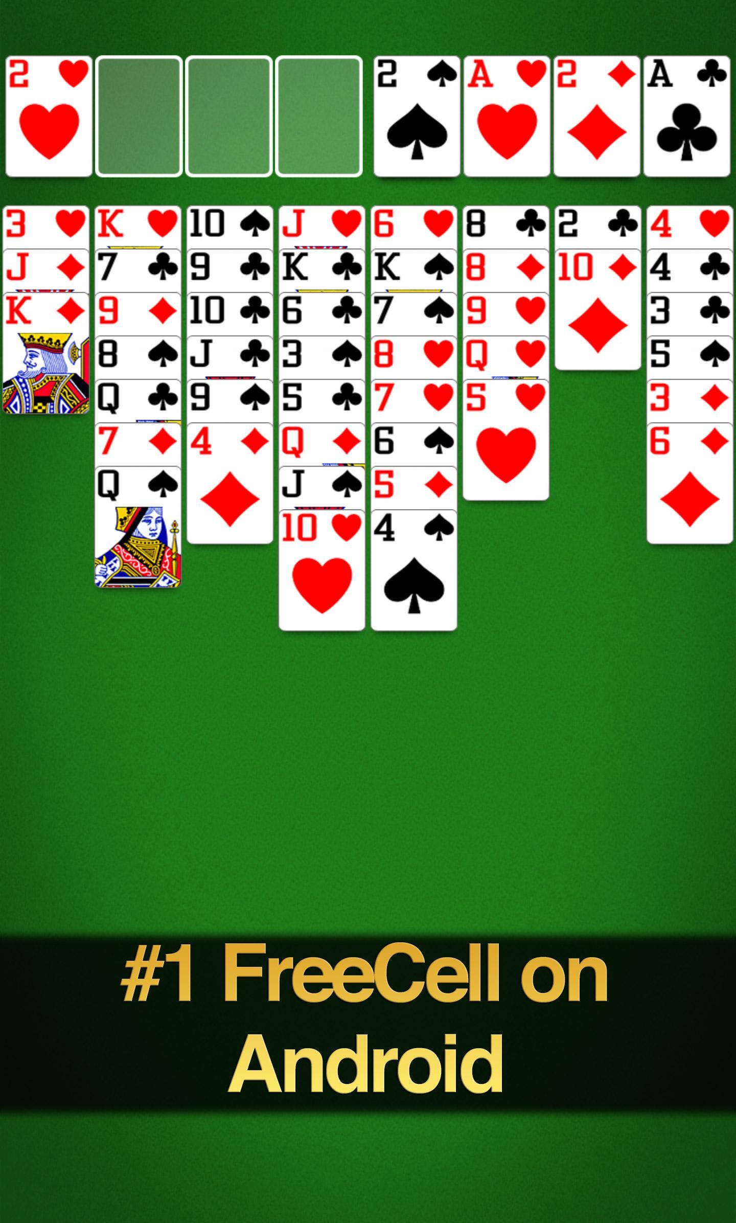 FreeCell Solitaire screenshot #2