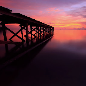 Sunset Again by Andry Wahyudi Agus - Landscapes Sunsets & Sunrises