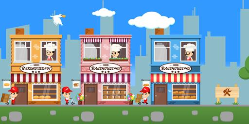 Tycoon Bakehouse - jeu Clicker ralenti  captures d'écran 1