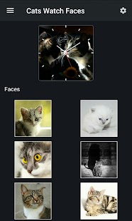 Cats Watch Faces- screenshot thumbnail