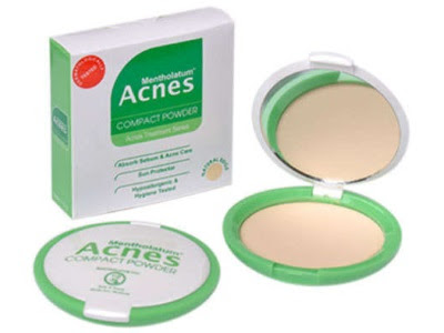 Acnes Compact Powder bedak padat lembut untuk kulit berjerawat nyaman halus digunakan anti bakteri
