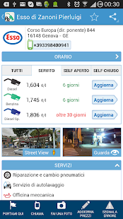 App Prezzi Benzina - GPL e Metano APK for Windows Phone