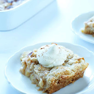 "Quick and Easy Gluten Free Apple ""Dump"" Cake."