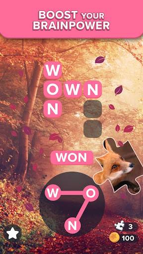 Puzzlescapes: Relaxing Word Puzzle Brain Game 2.166 screenshots 1