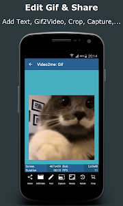Video2me:Gif Maker, Video Edit screenshot 3