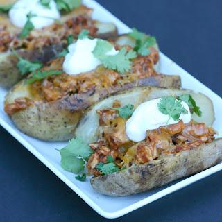 BBQ Chicken Baked Potatoes.