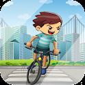 Crazy BMX Boy Jungle Bike Pro icon