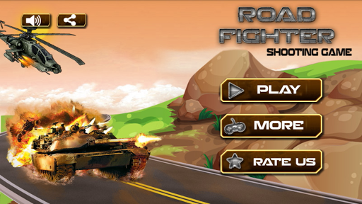 Road Fighter : Shooting Game