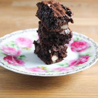 Chocolate Hazelnut Brownies.