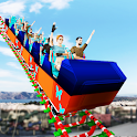 Impossible Roller Coaster - Theme Park Fun icon