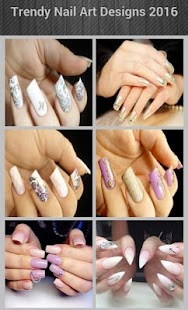 Trendy Nail Art Designs 2016 - náhled